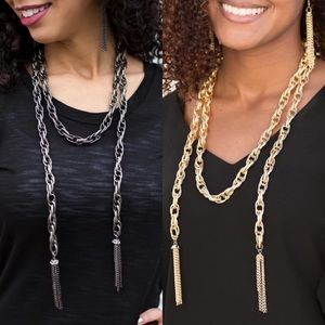 (2) Rope Necklaces